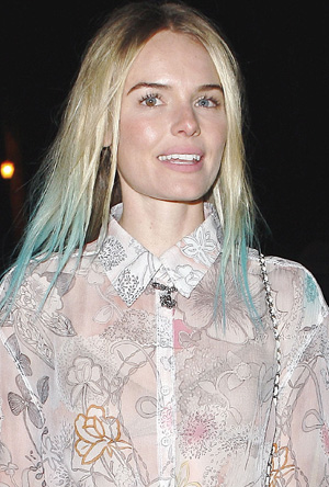 Kate Bosworth's hair chalk