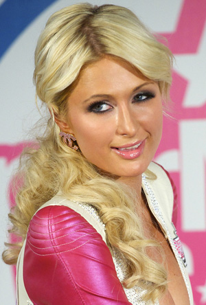Paris Hilton's hair extensions