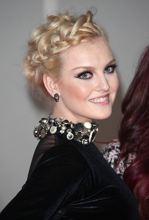 Perrie Edward's complicated braides