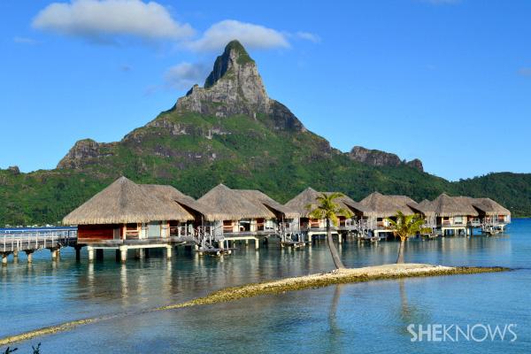 The InterContinetal Resort & Thalasso Spa, Bora Bora