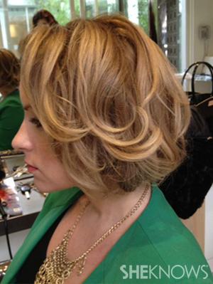 Single Twistback Hairstyle