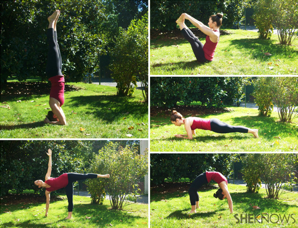 5 Total body toning yoga poses