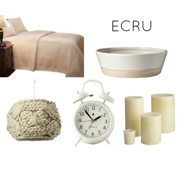 Ecru bedroom color scheme for bedroom