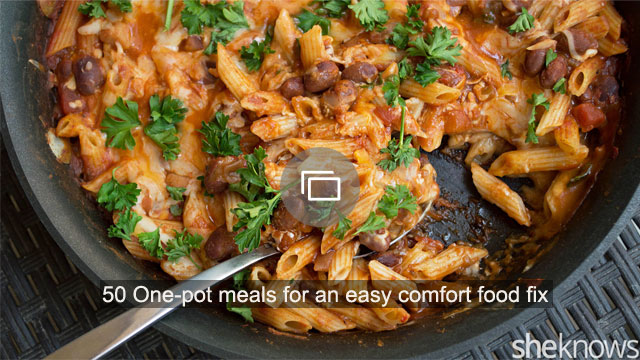 50 One-pot meals for an easy comfort food fix