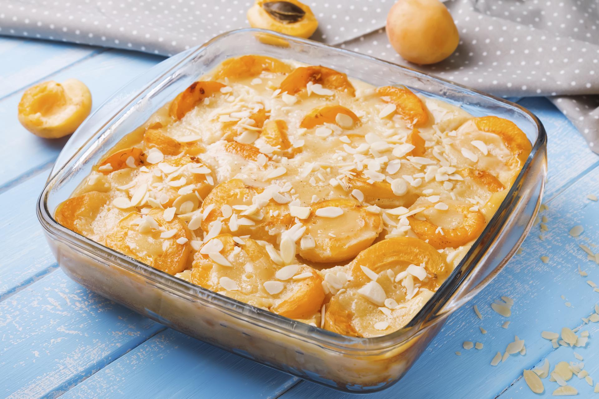 almond flour apricot cake
