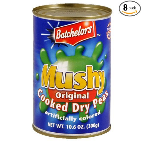 canned mushy peas