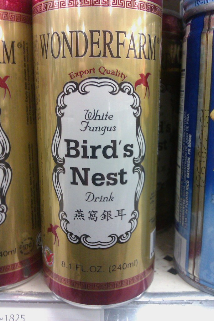 white fungus birds nest drink