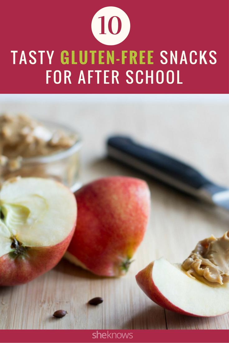 gluten-free afterschool snacks