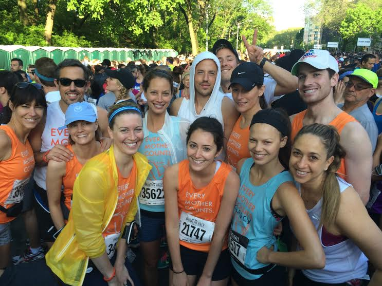 Christy Turlington and Team Every Mother Counts