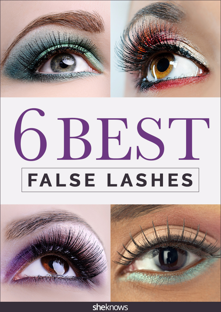 6 Best False Eyelash Sets According To A Pro Makeup Artist Sheknows