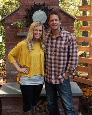 Chris and Peyton Lambton from HGTV's Going Yard