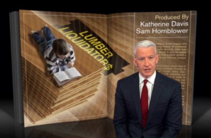 Is Lumber Liquidators selling toxic laminate