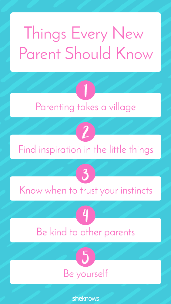 Pin it! Daphne Oz First-time Mom tips