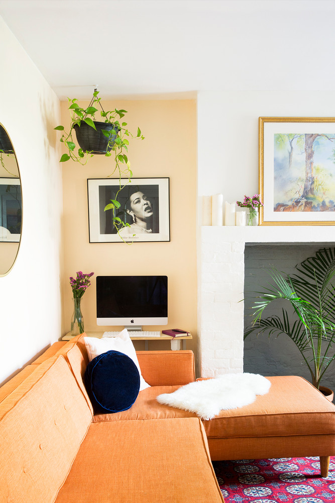 The Best Small Spaces of 2017: 650 Square Foot Apartment | Home Decor