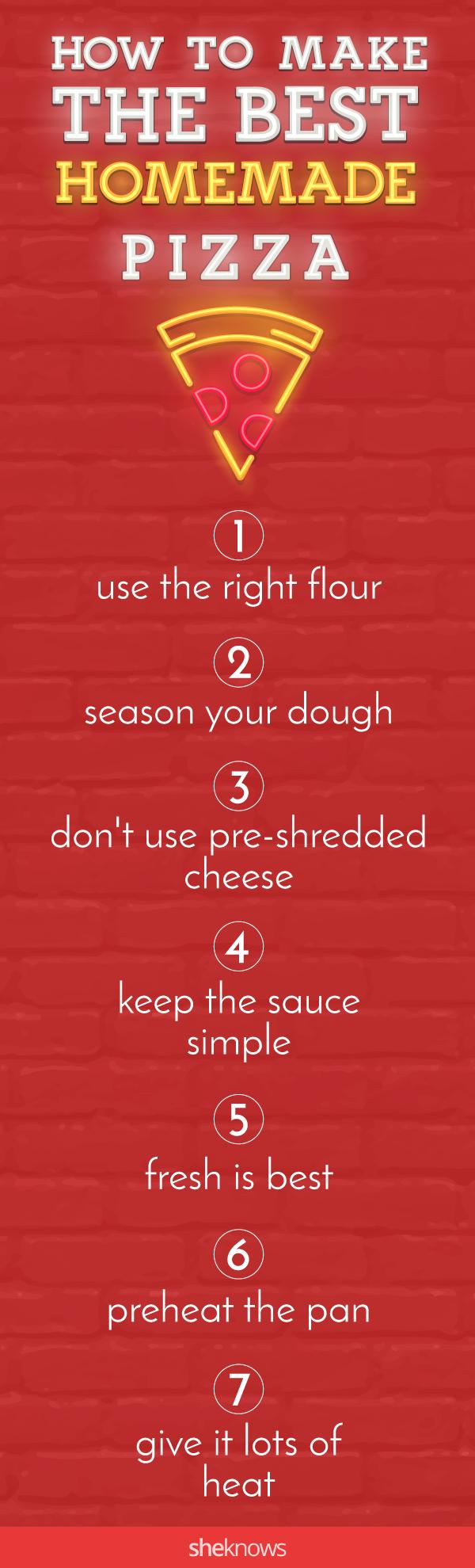 Pin it! Homemade Pizza Recipe