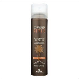 Alterna's Bamboo Style Cleanse Extend Dry Shampoo