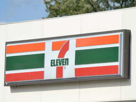 7 Eleven store front
