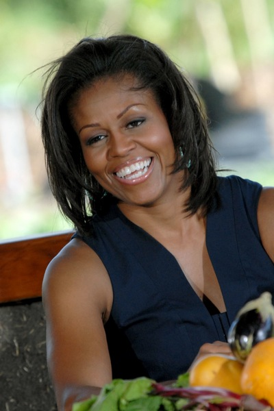 First Lady Michelle Obama visits Ma'o