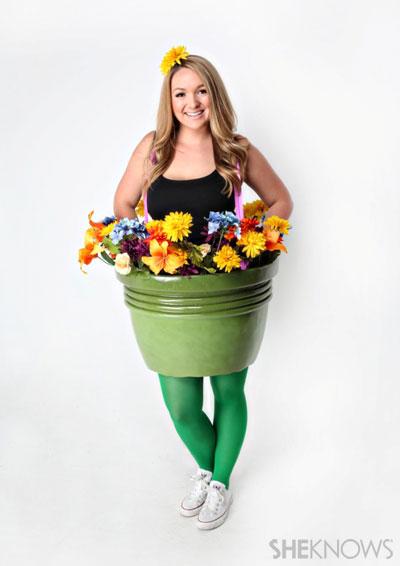 Flowerpot Halloween costumes