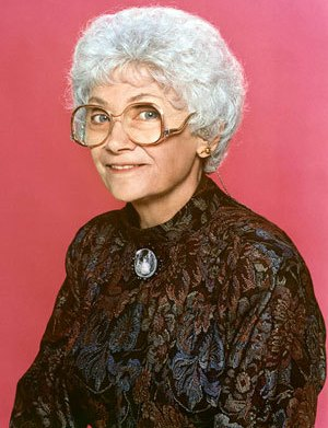 Estelle Getty as Sophia Petrillo in