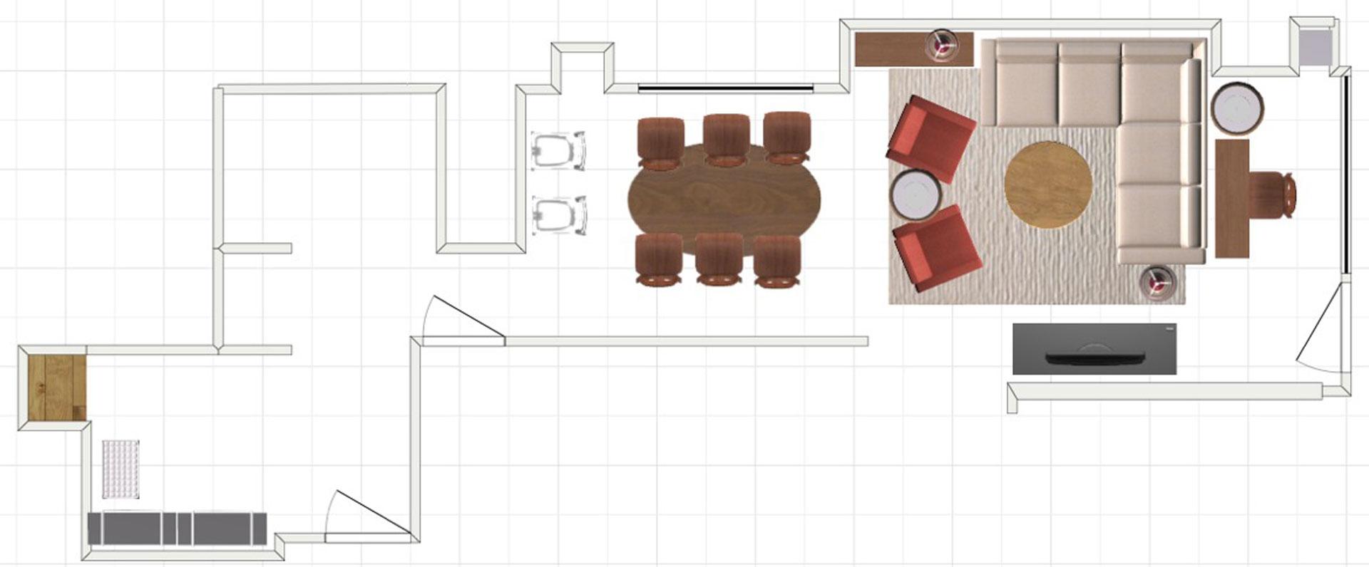 Small Space Floor Plan B
