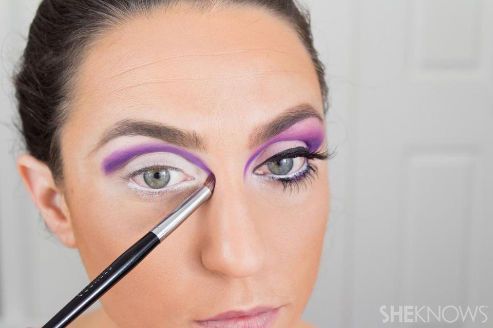 Barbie Halloween Makeup: Step 7