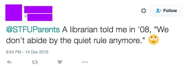 Quiet rule