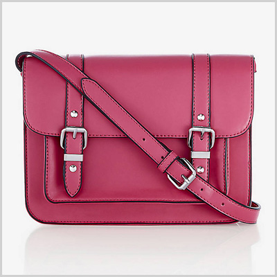 Double Buckle Small Messenger Bag (Express, $50)