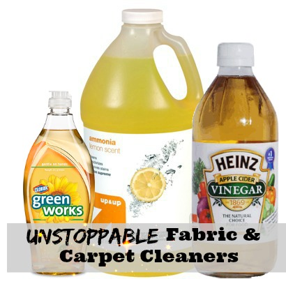 Overall carpet and upholstery spills