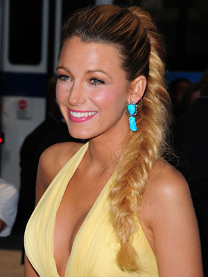 Blake Lively's fishtail