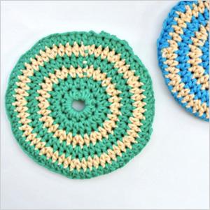 Crochet discs