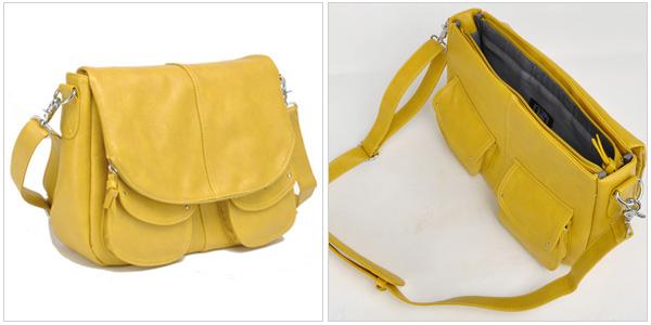 Betsy in mustard, jototes.com, $119