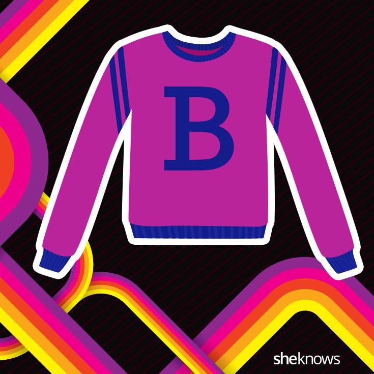 "Benneton ""B"" sweater"