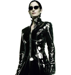 Carrie-Anne Moss as Trinity in The