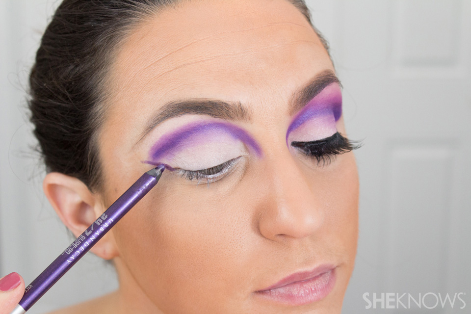 Barbie Halloween Makeup: Step 8