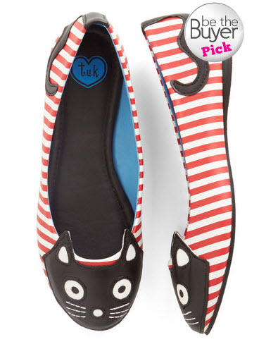 Up Your Alley Cat Flats