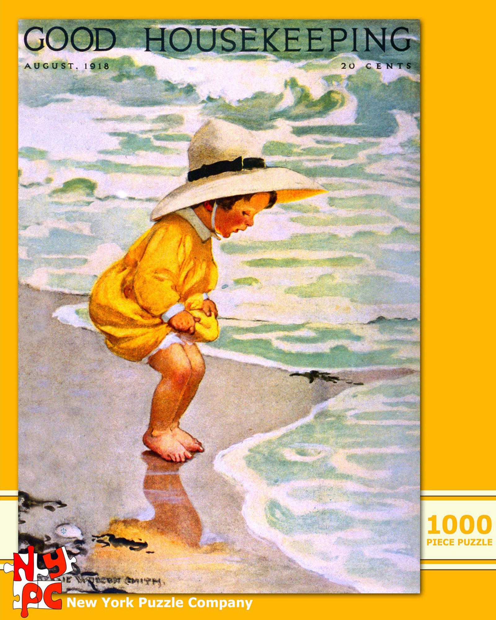 vintage magazine cover puzzle