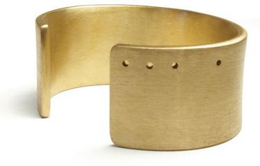 bronze wrist cuff,