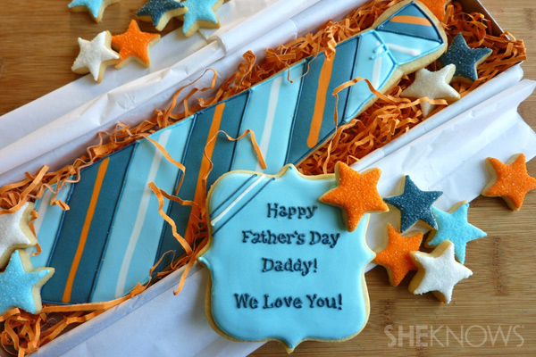 Father's Day gift idea: Sugar cookie
