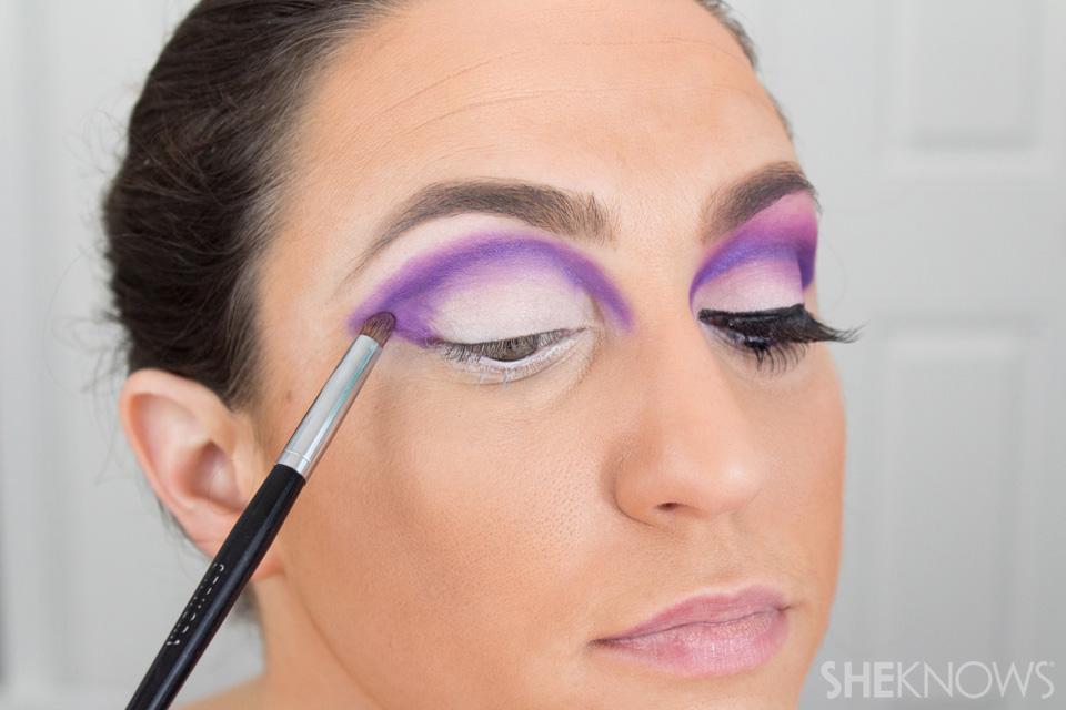 Barbie Halloween Makeup: Step 9