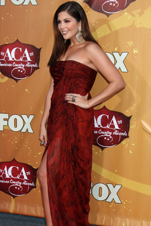 Hillary Scott Best Dressed American Country Awards