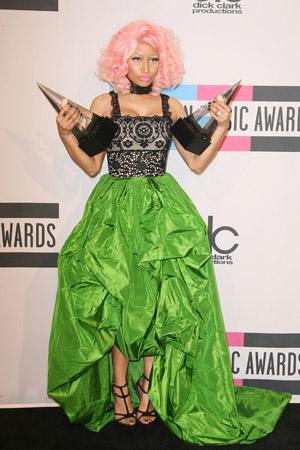 Nicki Minaj at the AMAs