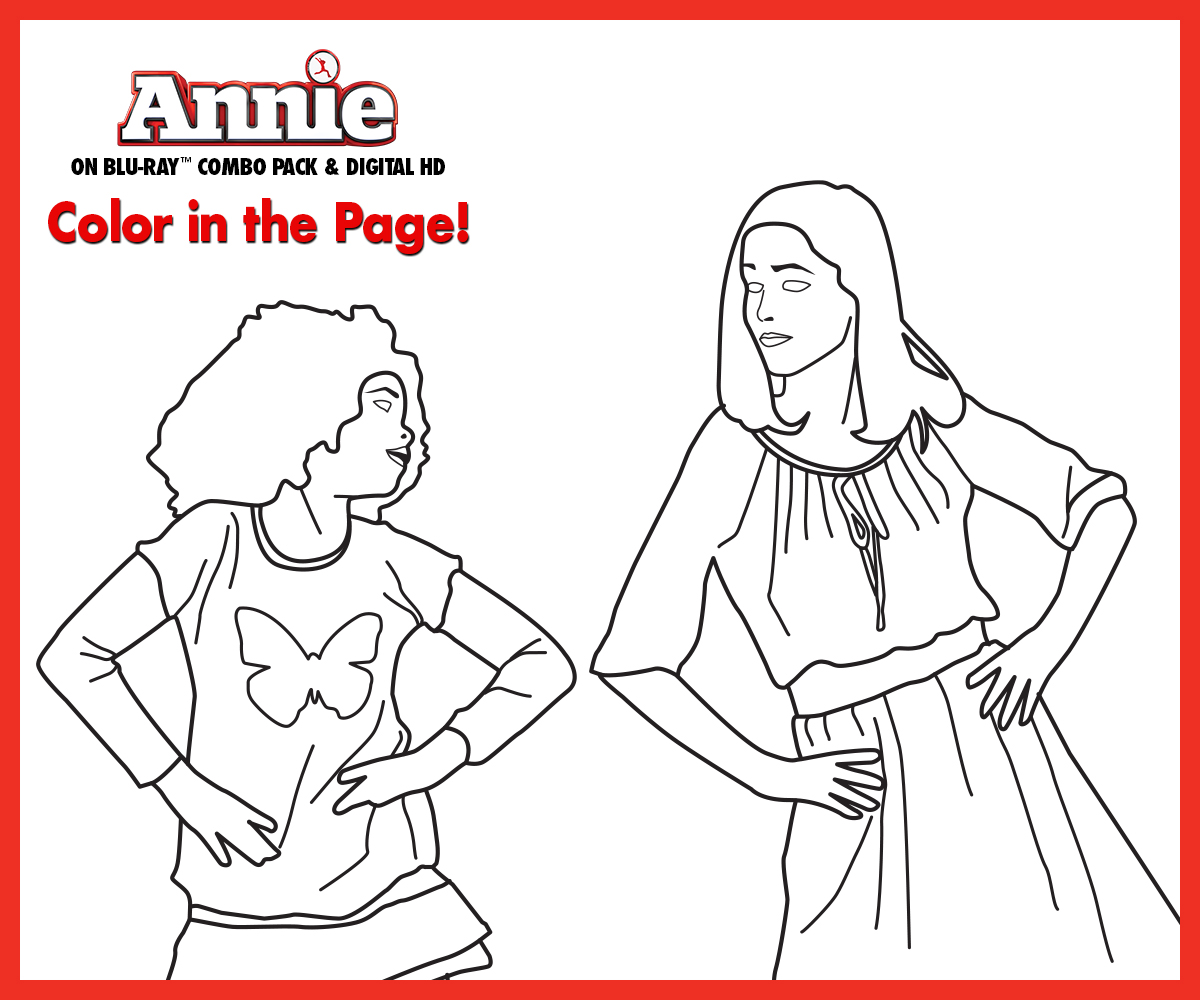 coloring pages little orphan annie - photo#33
