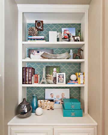 Abbe Fenimore Organized Book Shelf