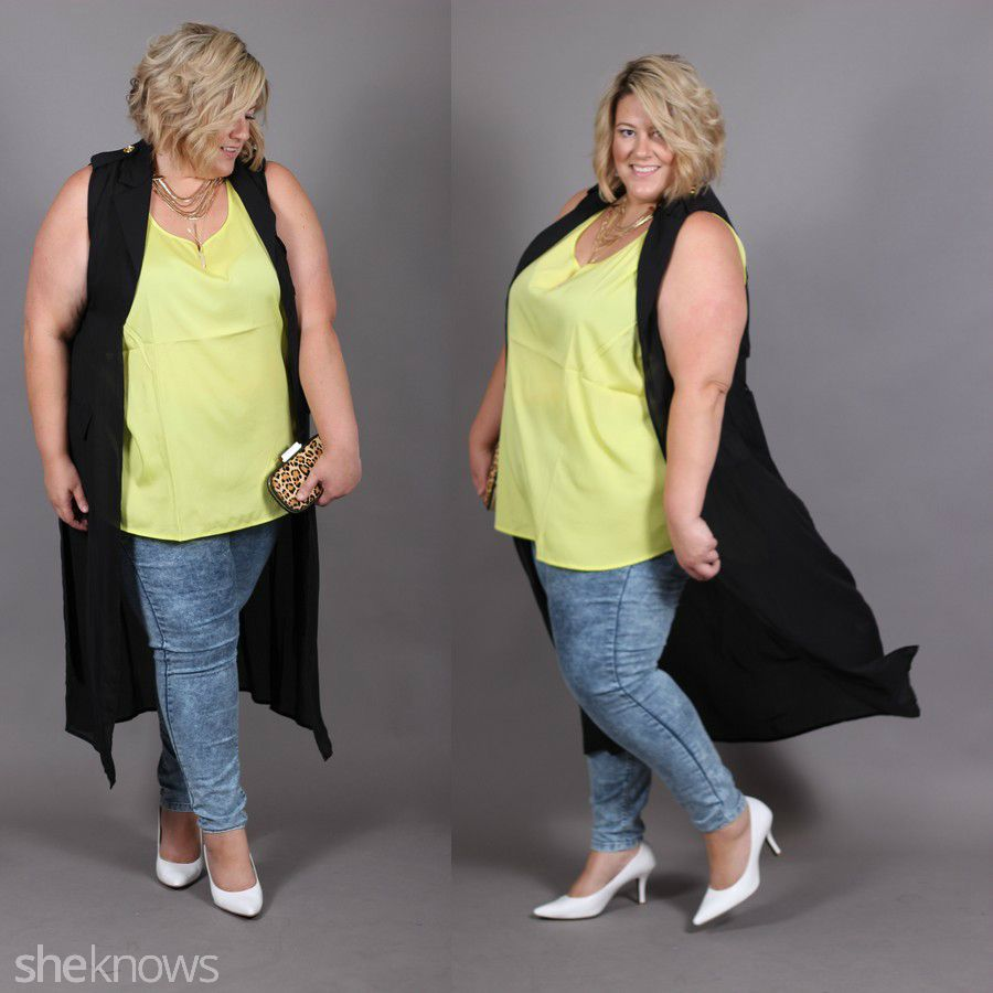 206c3b29e58 3 Flawless ways to rock acid wash Jeggings as a curvy girl – SheKnows