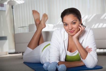 Active Healthy woman
