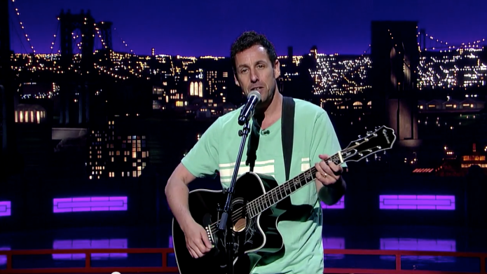 Adam Sandler says goodbye to David