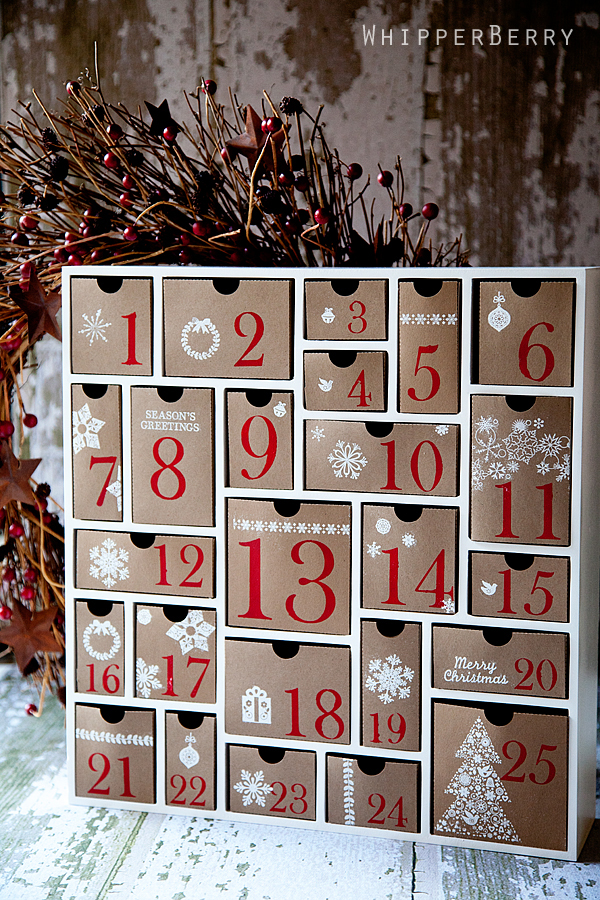 Advent calendar from Whipper Berry