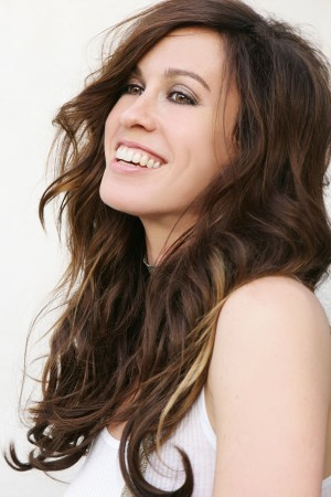 After creating brilliance, Alanis has every reason to smile