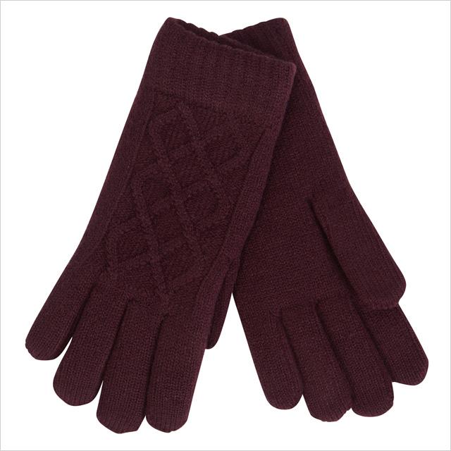 Aldo Proesen Gloves in Bordeaux